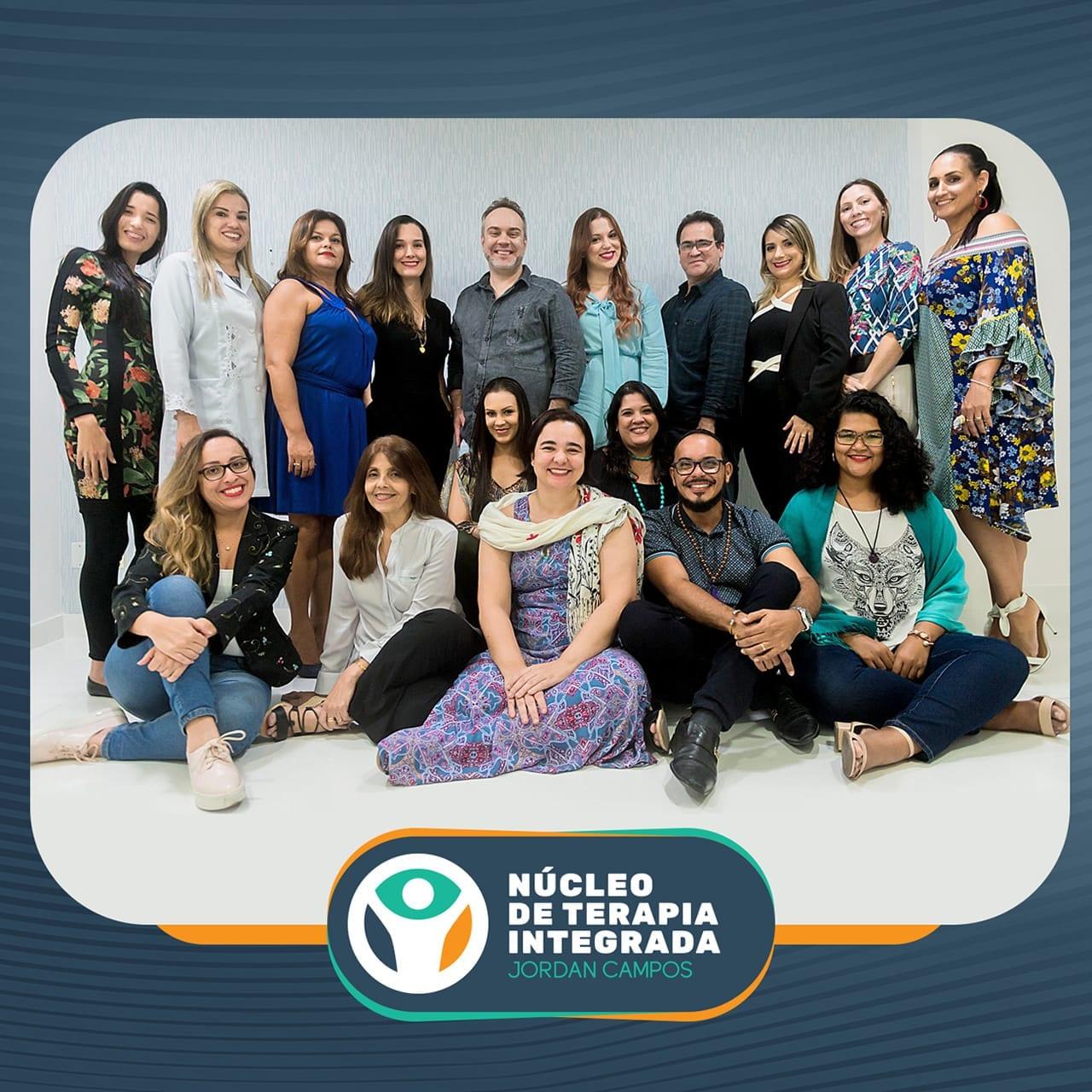 Equipe do Núcleo de Terapia Integrada – Jordan Campos